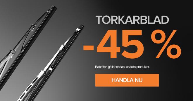 Torkarblad -45 %