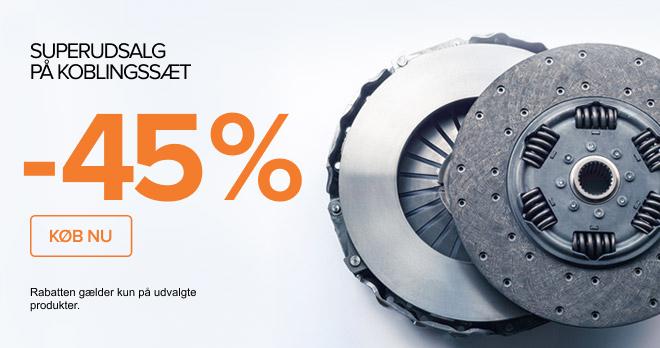 SUPERUDSALG! PÅ KOBLINGSSÆT -42% - KØB NU