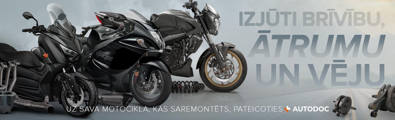 Motociklu rezerves daļas