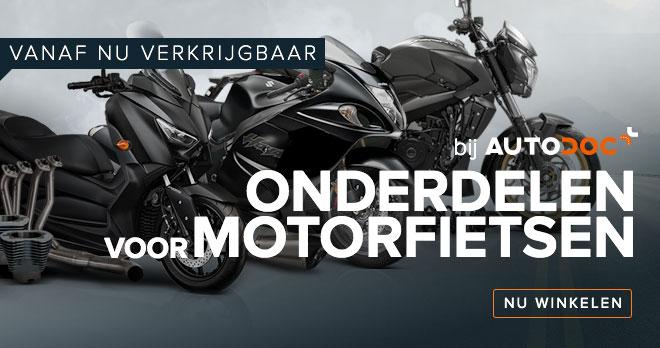 VANAF NU VEKRIJGBAAR BIJ AUTODOC ONDERDELEN VOOR MOTORFIETSEN - Nu winkelen!