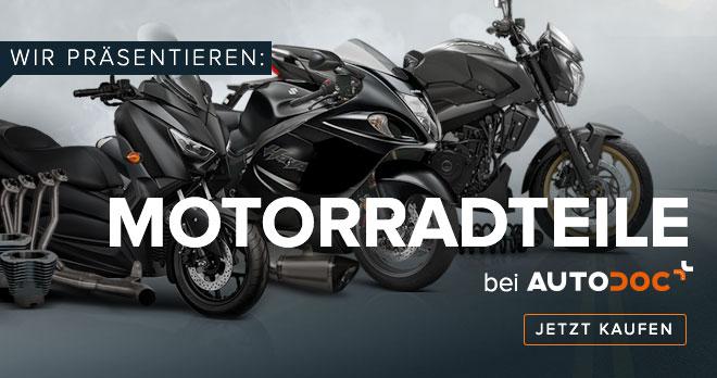 WIR PRÄSENTIEREN: MOTORRADTEILE BEI AUTODOC - Jetzt shoppen!
