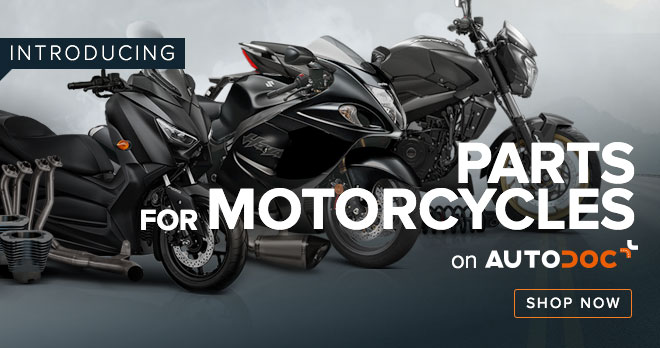 INTRODUCING PARTS FOR MOTORCYCLES ON AUTODOC - Shop now!