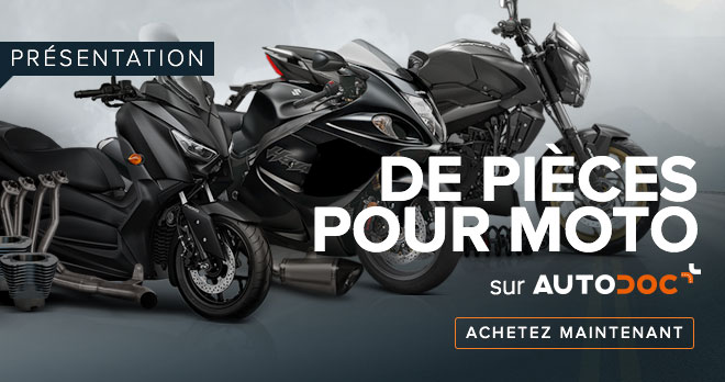 PRÉSENTATION DE PIÈCES POUR MOTO SUR AUTODOC - Achetez maintenant!