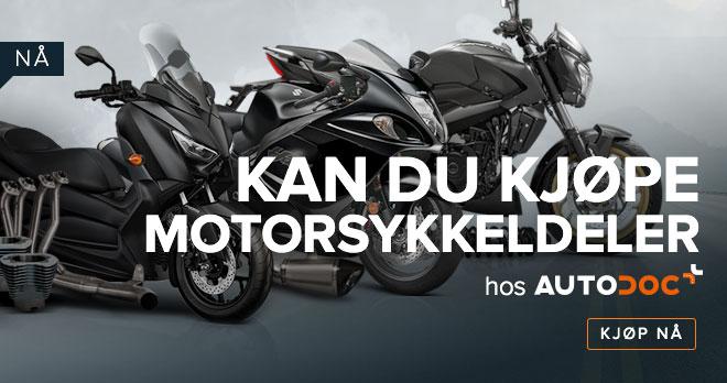 NÅ KAN DU KJØPE MOTORSYKKELDELER HOS AUTODOC - Kjøp nå!