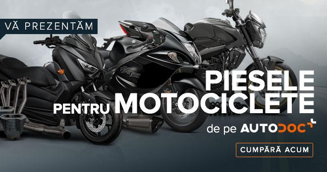 VĂ PREZENTĂM PIESELE PENTRU MOTOCICLETE DE PE AUTODOC - Cumpără acum!