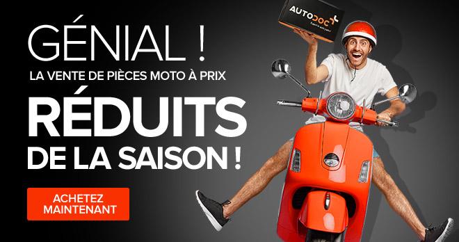 Génial ! La vente de pièces de moto à prix réduits de la saison !