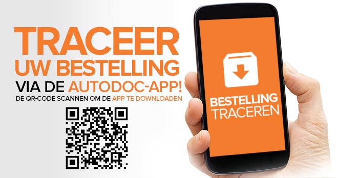Traceer uw bestelling via de AUTODOC-app! De QR-code scannen om de app te downloaden | Bestelling traceren!