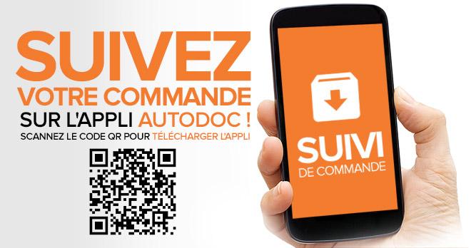 Suivez votre commande sur l'appli AUTODOC ! Scannez le code QR pour télécharger l'appli | Suivi de commande !