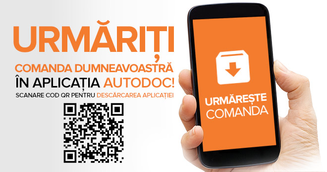 Urmăriți comanda dumneavoastră în aplicația AUTODOC! Scanare cod QR pentru descărcarea aplicației | Urmărește comanda!