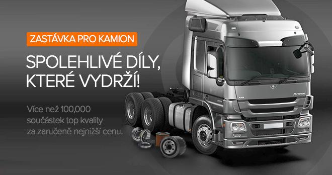 Speciální nabídky a slevy od 22% na díly pro kamiony