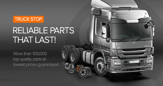 Special offers and discounts from 20% on truck parts