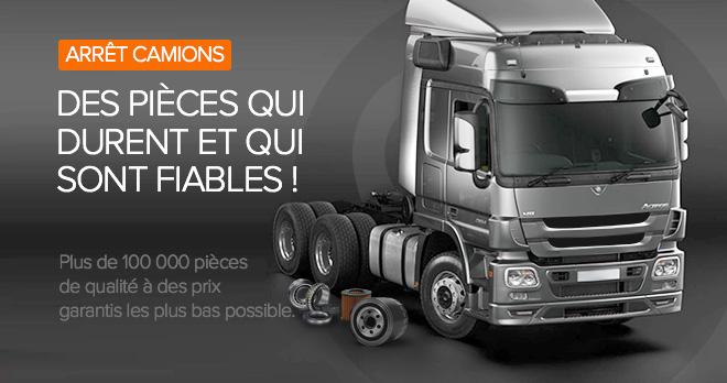 Offres spéciales et réductions de 25% sur les pièces détachées pour camions