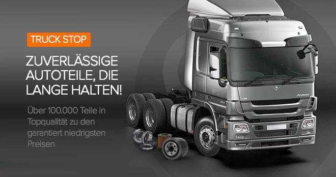 Rabatte ab 24% auf alle LKW-Ersatzteile