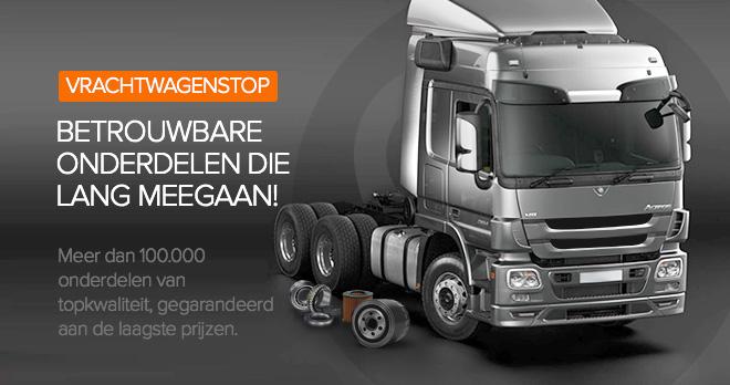 Bijzondere promoties en prijsverlagingen van 15% op wisselstukken voor vrachtwagens
