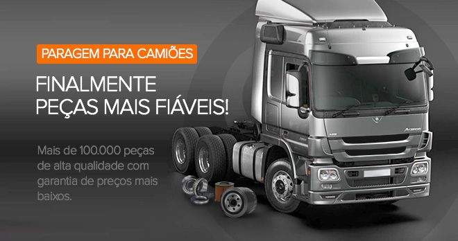 Ofertas especiais e descontos desde 18% em peças para camiões