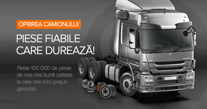 Oferte speciale și reduceri de la 20% la piesele auto pentru camioane