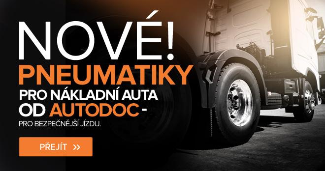 Nové! Pneumatiky pro nákladní auta od AUTODOC - pro bezpečnější jízdu - Přejít!
