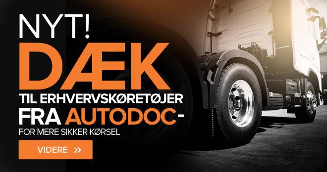 Nye! Dæk til erhvervskøretøjer fra AUTODOC - for mere sikker kørsel - Videre!