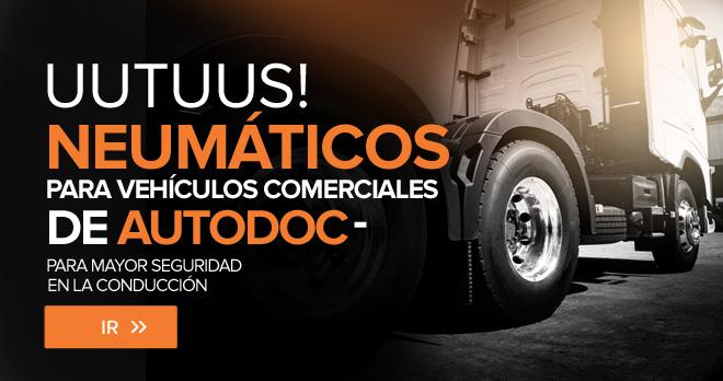 ¡Nuevos! Neumáticos para vehículos comerciales de AUTODOC - para mayor seguridad en la conducción - Ir!