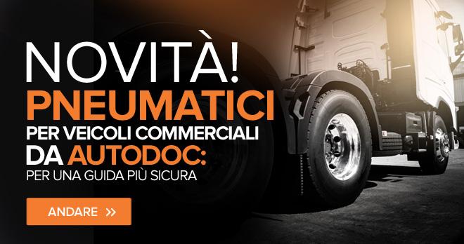 Novità! Pneumatici per veicoli commerciali da AUTODOC: per una guida più sicura - Andare!