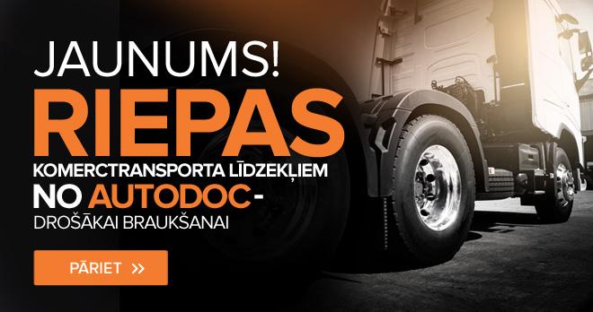 Jaunums! Riepas komerctransporta līdzekļiem no AUTODOC - drošākai braukšanai - Pāriet!