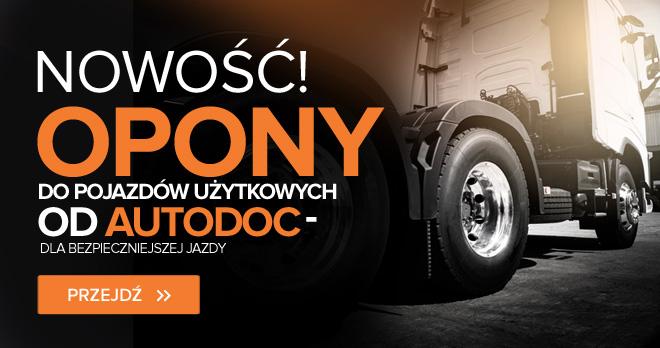 Nowość! Opony do pojazdów użytkowych od AUTODOC - dla bezpieczniejszej jazdy - Przejdź!