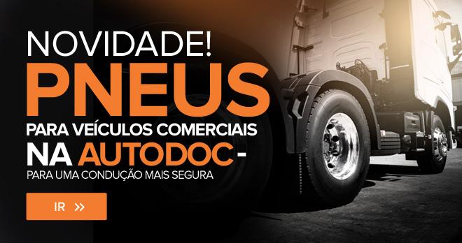 Novo! Pneus para veículos comerciais da AUTODOC - para uma condução mais segura - Ir!
