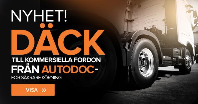 Nytt! Däck till kommersiella fordon från AUTODOC – för säkrare körning – Gå dit!