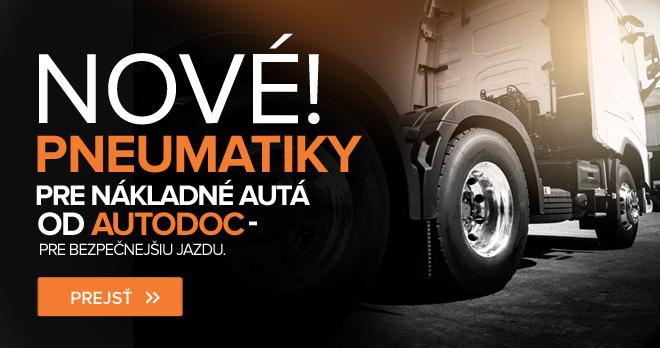 Nové! Pneumatiky pre nákladné autá od AUTODOC – pre bezpečnejšiu jazdu - Prejsť!
