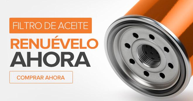 Filtro de Aceite - Renuévelo ahora! Comprar ahora!