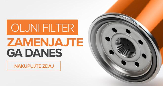 Oljni Filter - Zamenjajte ga danes! Nakupujte zdaj!