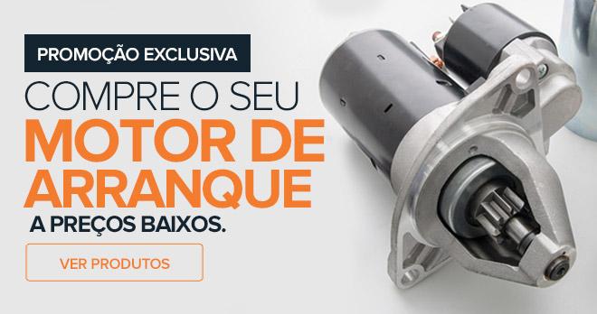 Promoção exclusiva! Compre o seu motor de arranque a preços baixos - Ver produtos!