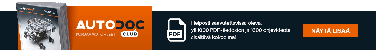 AUTODOC CLUB: Helposti saavutettavissa oleva, yli 1000 PDF-tiedostoa ja 1600 ohjevideota sisältävä kokoelma!