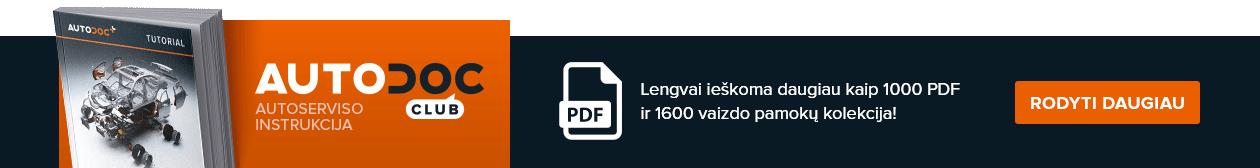 AUTODOC CLUB: Lengvai ieškoma daugiau kaip 1000 PDF ir 1600 vaizdo pamokų kolekcija!