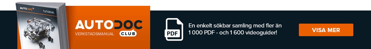 AUTODOC CLUB: En enkelt sökbar samling med fler än 1000 PDF- och 1600 videoguider!
