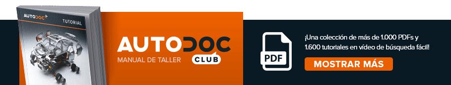 AUTODOC CLUB: ¡Una colección de más de 1.000 PDFs y 1.600 tutoriales en vídeo de búsqueda fácil!