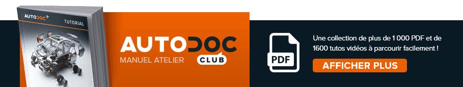 AUTODOC CLUB: Une collection de plus de 1 000 PDF et de 1600 tutos vidéos à parcourir facilement!