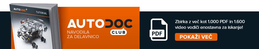 AUTODOC CLUB: Zbirka z več kot 1.000 PDF in video vodiči enostavna za iskanje!