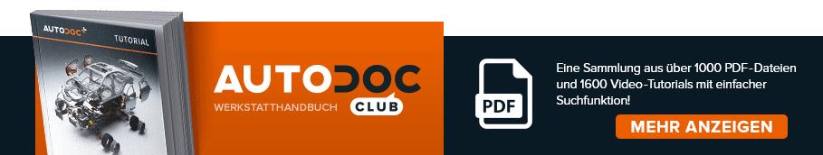 AUTODOC CLUB: Eine Sammlung aus über 1000 PDF-Dateien und 1600 Video-Tutorials mit einfacher Suchfunktion!