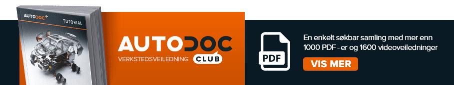 AUTODOC CLUB: En enkelt søkbar samling med mer enn 1000 PDF-er og 1600 videoveiledninger!