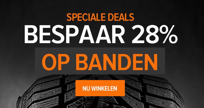 Speciale deals! Bespaar 28% op Autobanden - Nu winkelen