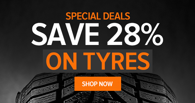 Special deals! Save 28% on Tyres - Shop now