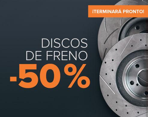 Super-Oferta! Discos de freno -50 % - Comprar ahora!