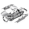 Car parts Body Mercedes CL203 online store