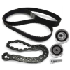 Belts, chains, rollers for 238 car parts in original quality