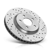 High performance brake disc for PEUGEOT