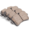 High performance brake pad for PEUGEOT