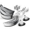 Brake set, drum brakes for PEUGEOT