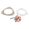 Catalytic converter mounting kit