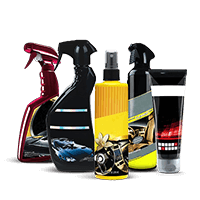 Professional car cleaning products